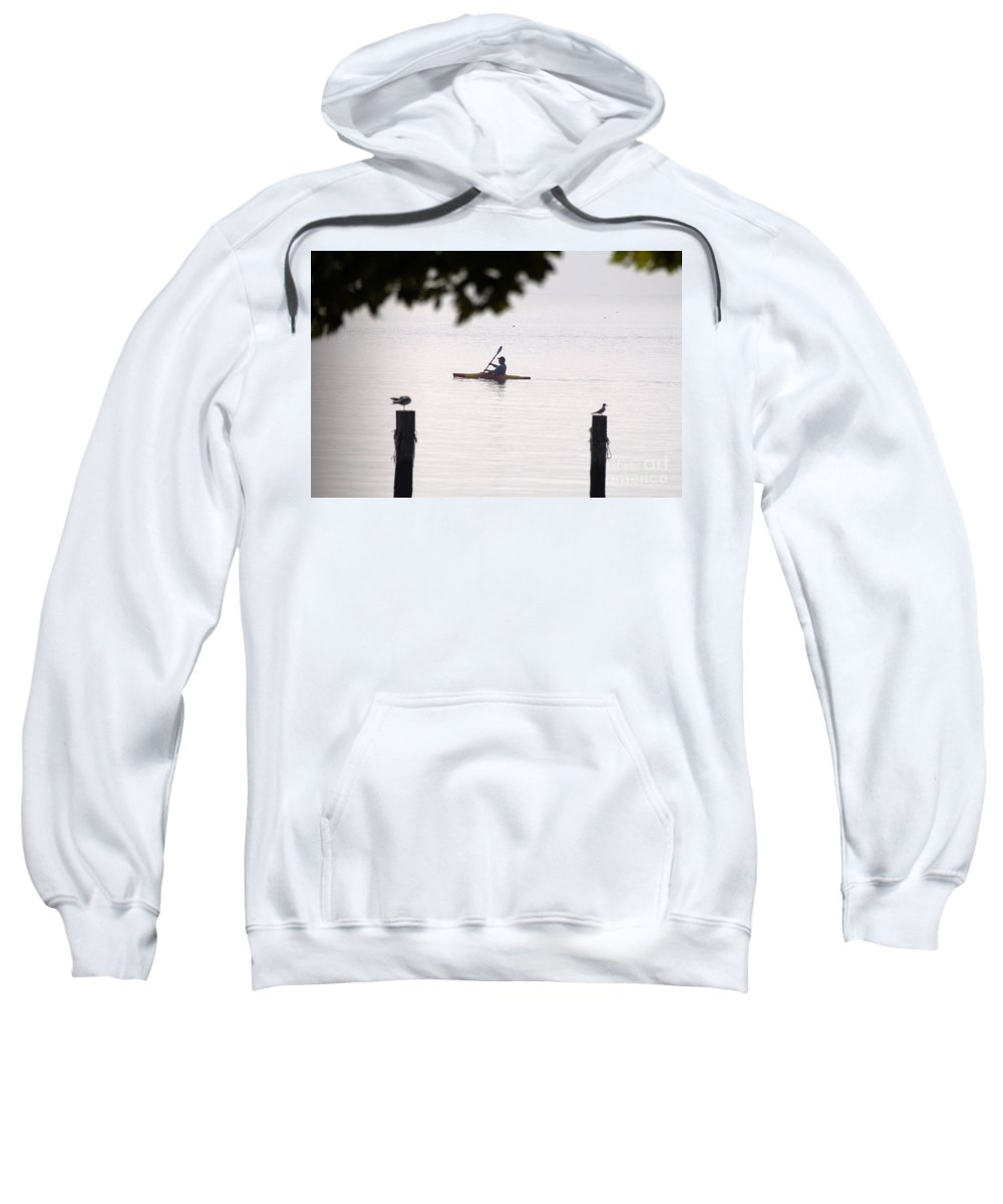 Clay Sweatshirt featuring the photograph Solitude by Clayton Bruster