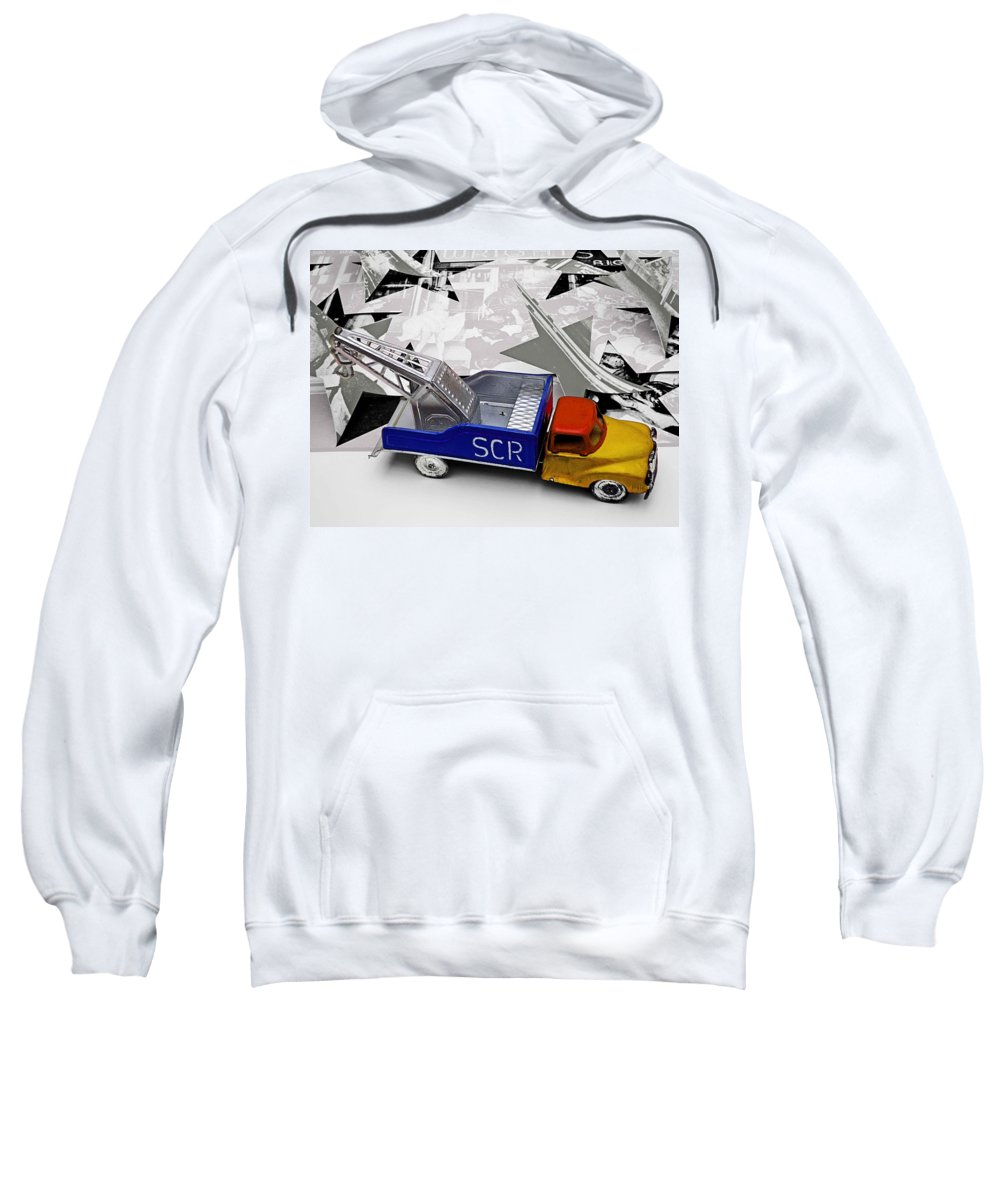 Marilyn Sweatshirt featuring the photograph Some Like It Hot by Charles Stuart
