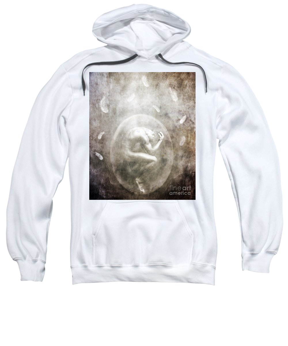 Surreal Sweatshirt featuring the photograph Sometimes by Jacky Gerritsen