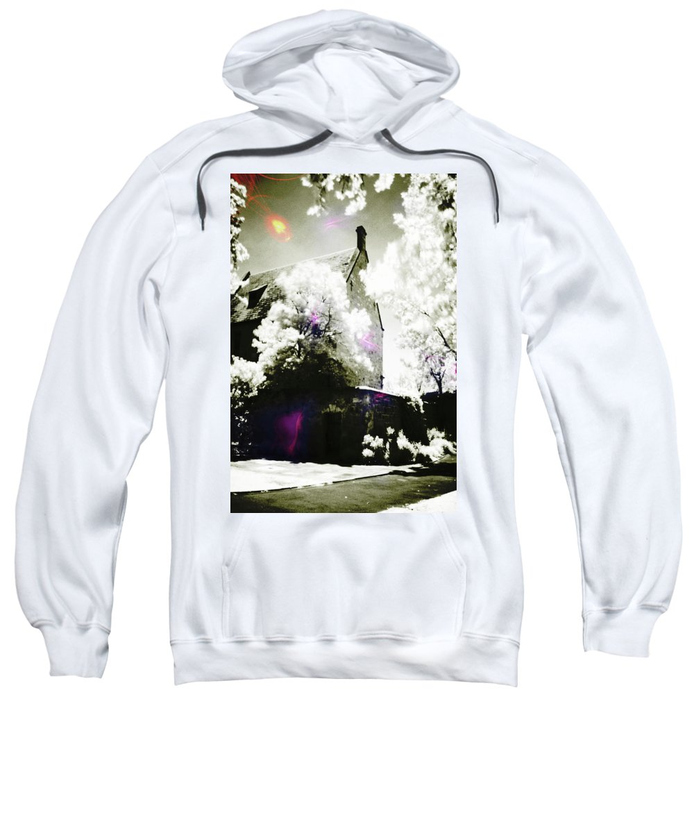 Spirit Sweatshirt featuring the photograph Spirits And Church by Phill Petrovic