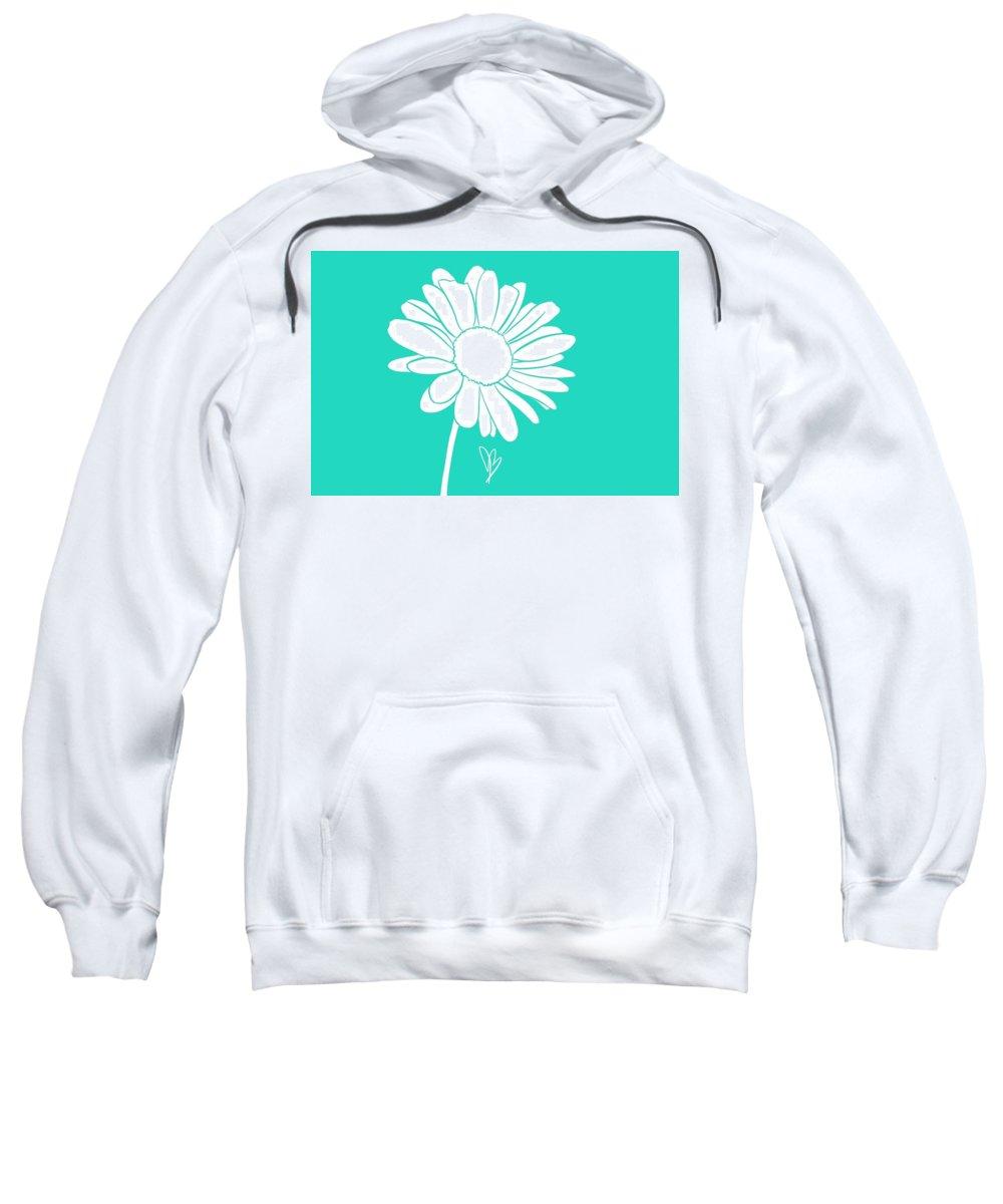 Flower Sweatshirt featuring the digital art Spring by Alessia Baptista