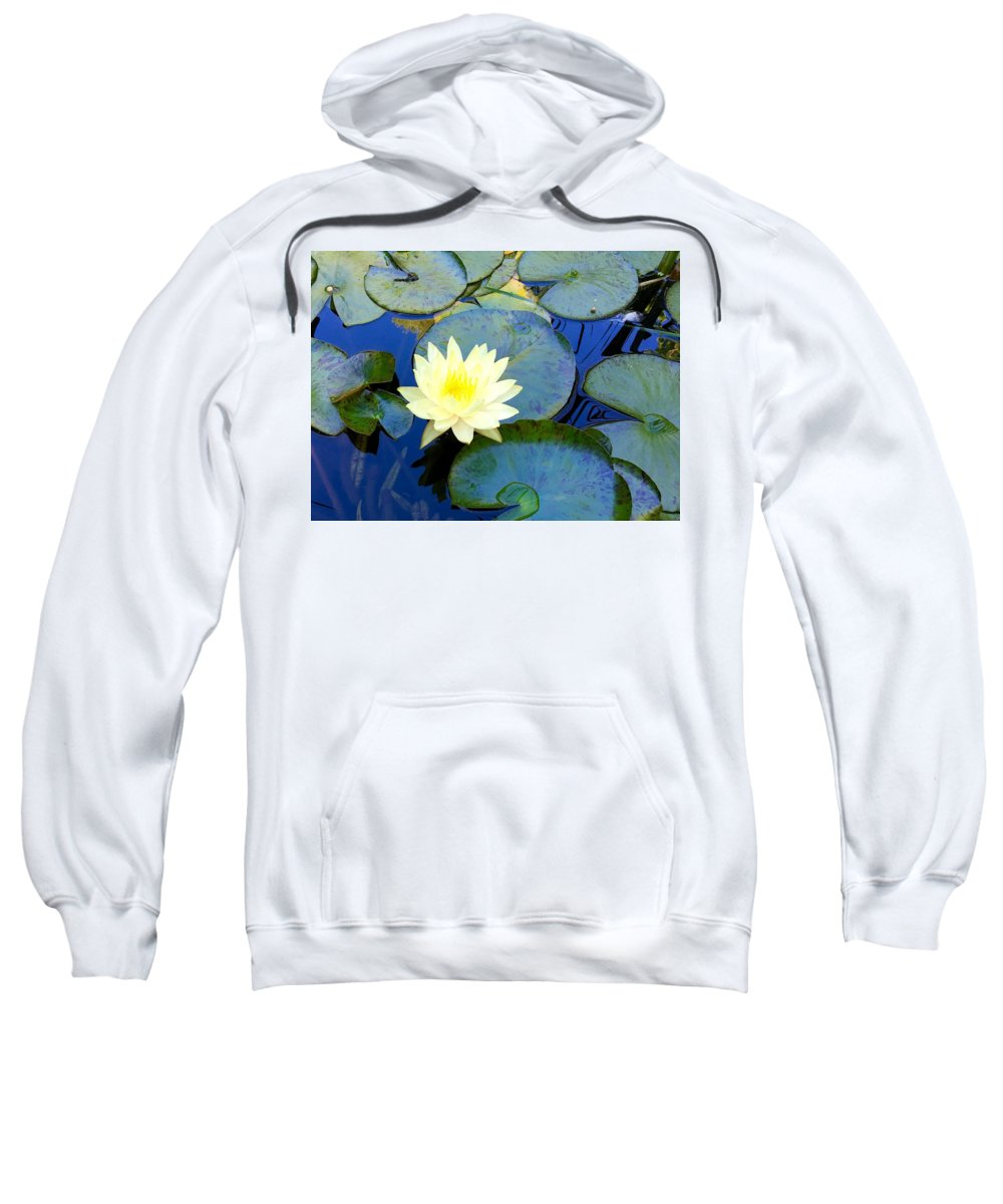 Lily Sweatshirt featuring the photograph Spring Lily by Angela Annas