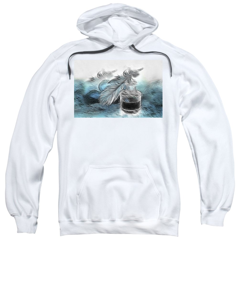 Spring Sweatshirt featuring the photograph Spring by Manfred Lutzius
