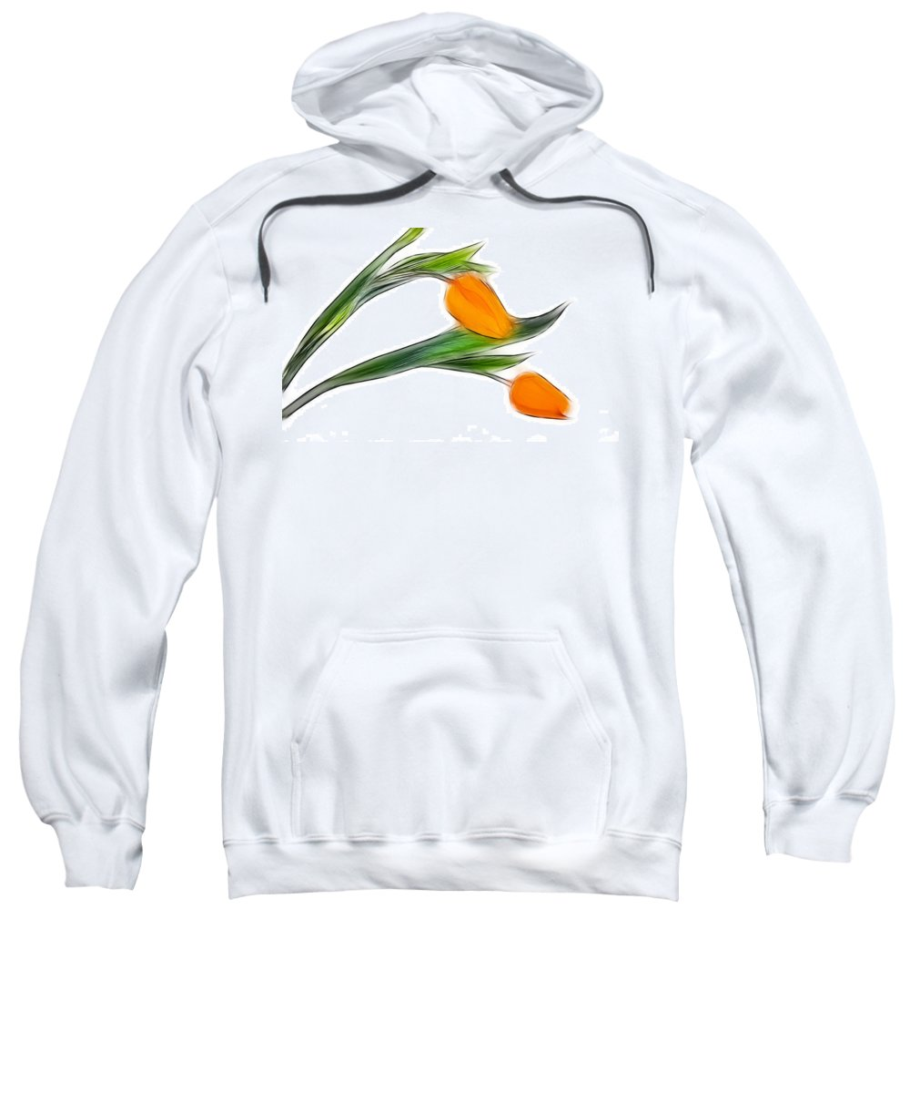 Tulip Sweatshirt featuring the photograph Spring Messenger by Manfred Lutzius