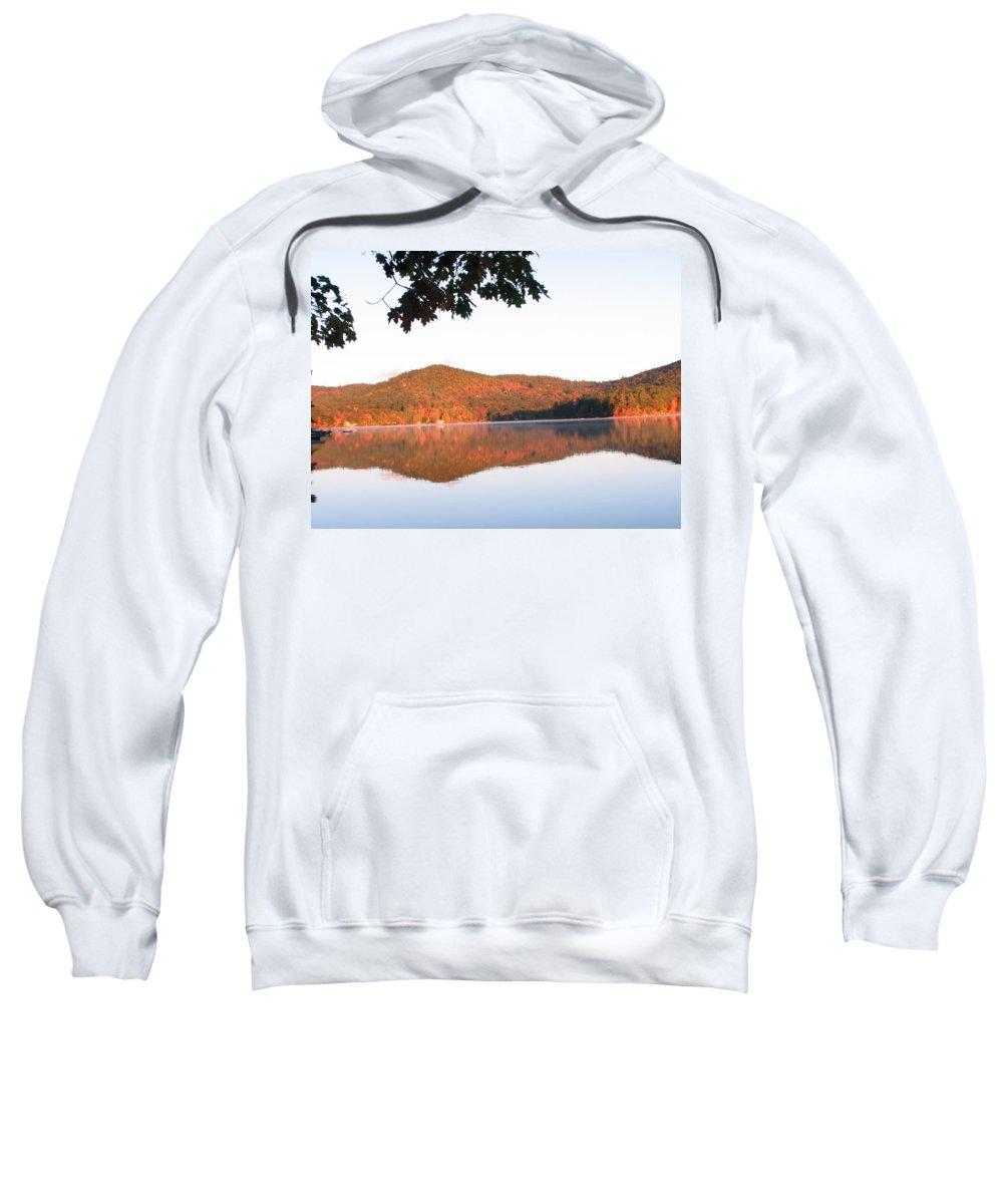 Squam Lake Sweatshirt featuring the photograph Squam Lake 2 by Michael Mooney