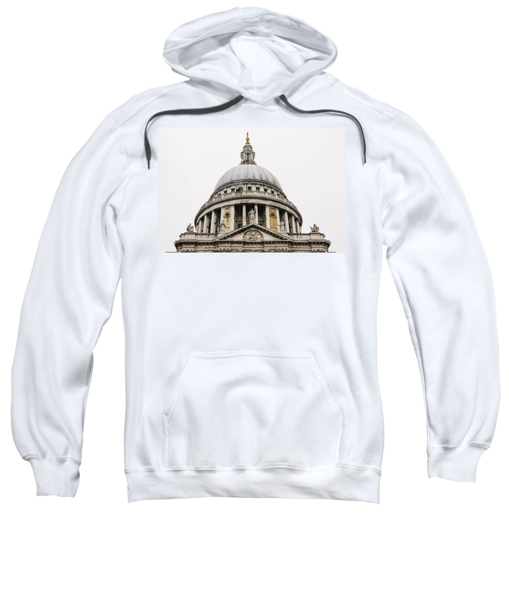 St Pauls Sweatshirt featuring the photograph St Paul Cathedral Dome by Pati Photography