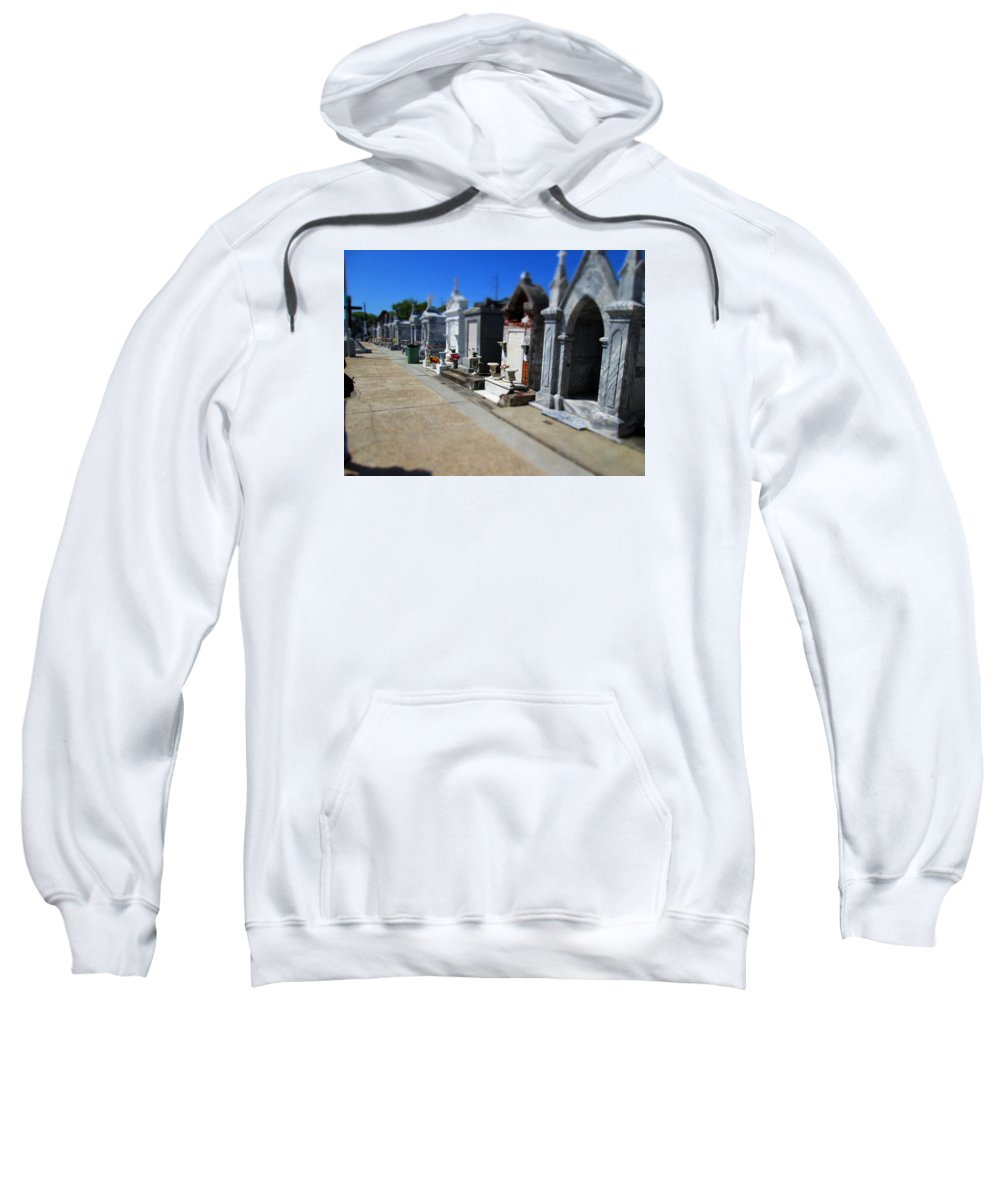 New Orleans Sweatshirt featuring the photograph St. Roch #1 by Monte Landis