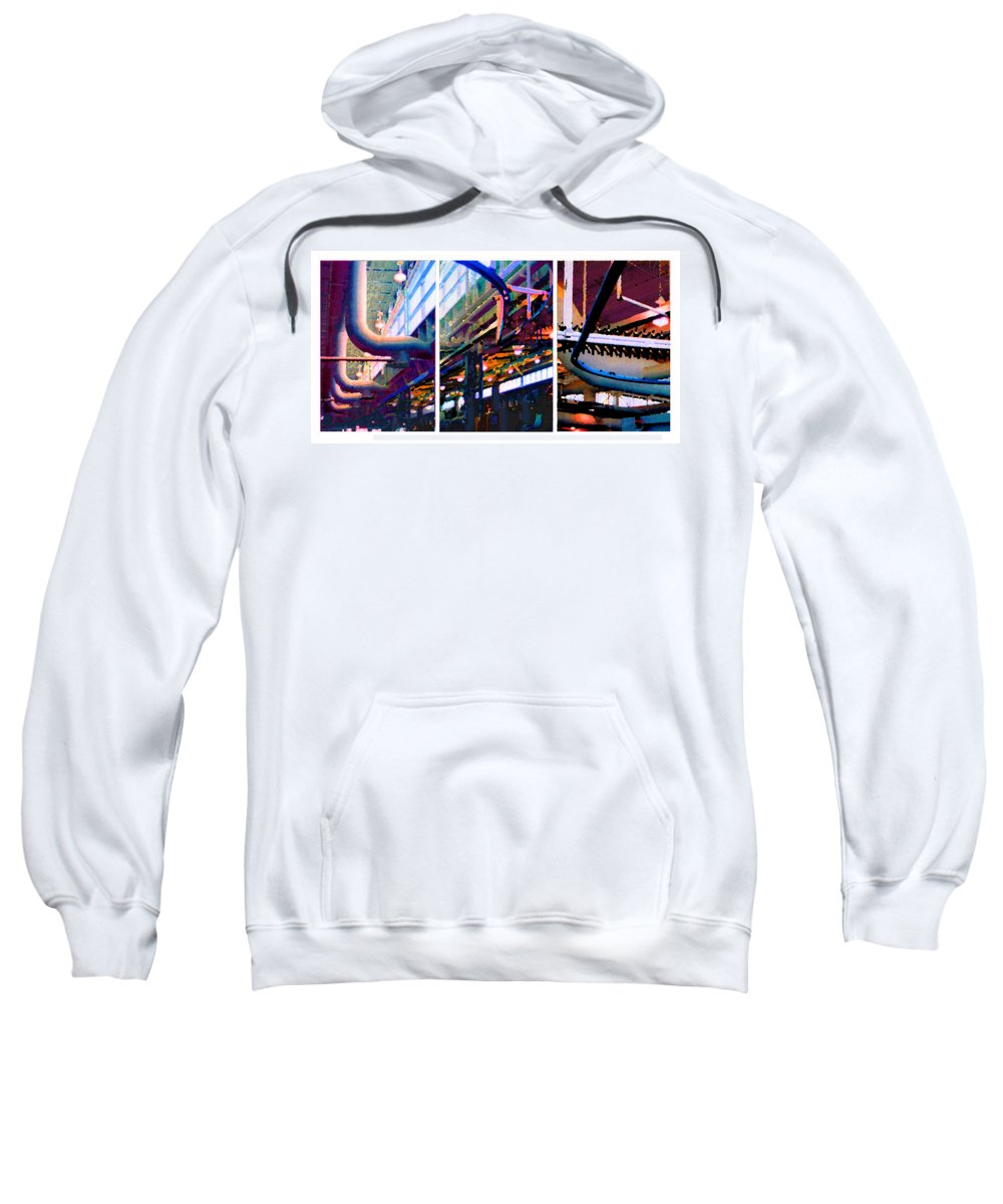 Abstract Sweatshirt featuring the photograph Star factory by Steve Karol