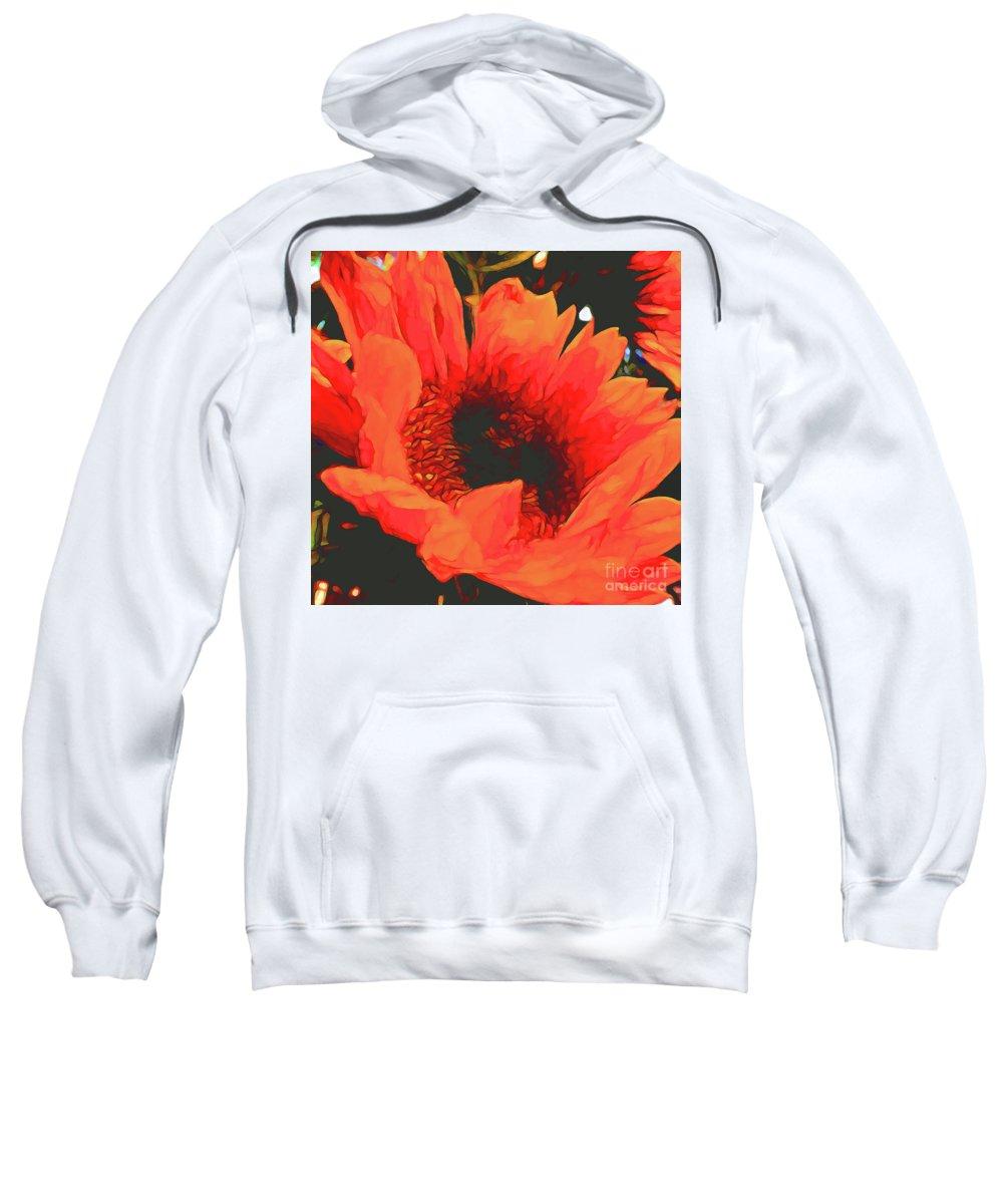 Flower Photographs Sweatshirt featuring the photograph Stargazer by Shae Aja