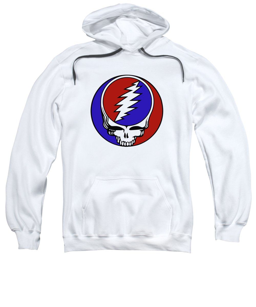 8ff2350cdc9 Steal Your Face Sweatshirt featuring the digital art Steal Your Face by Gd