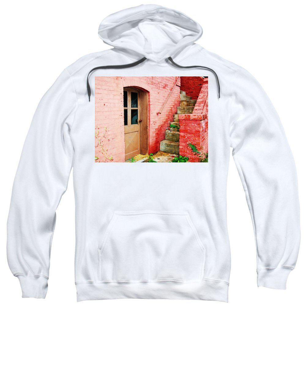 Steps Sweatshirt featuring the photograph Step It Up by Debbi Granruth