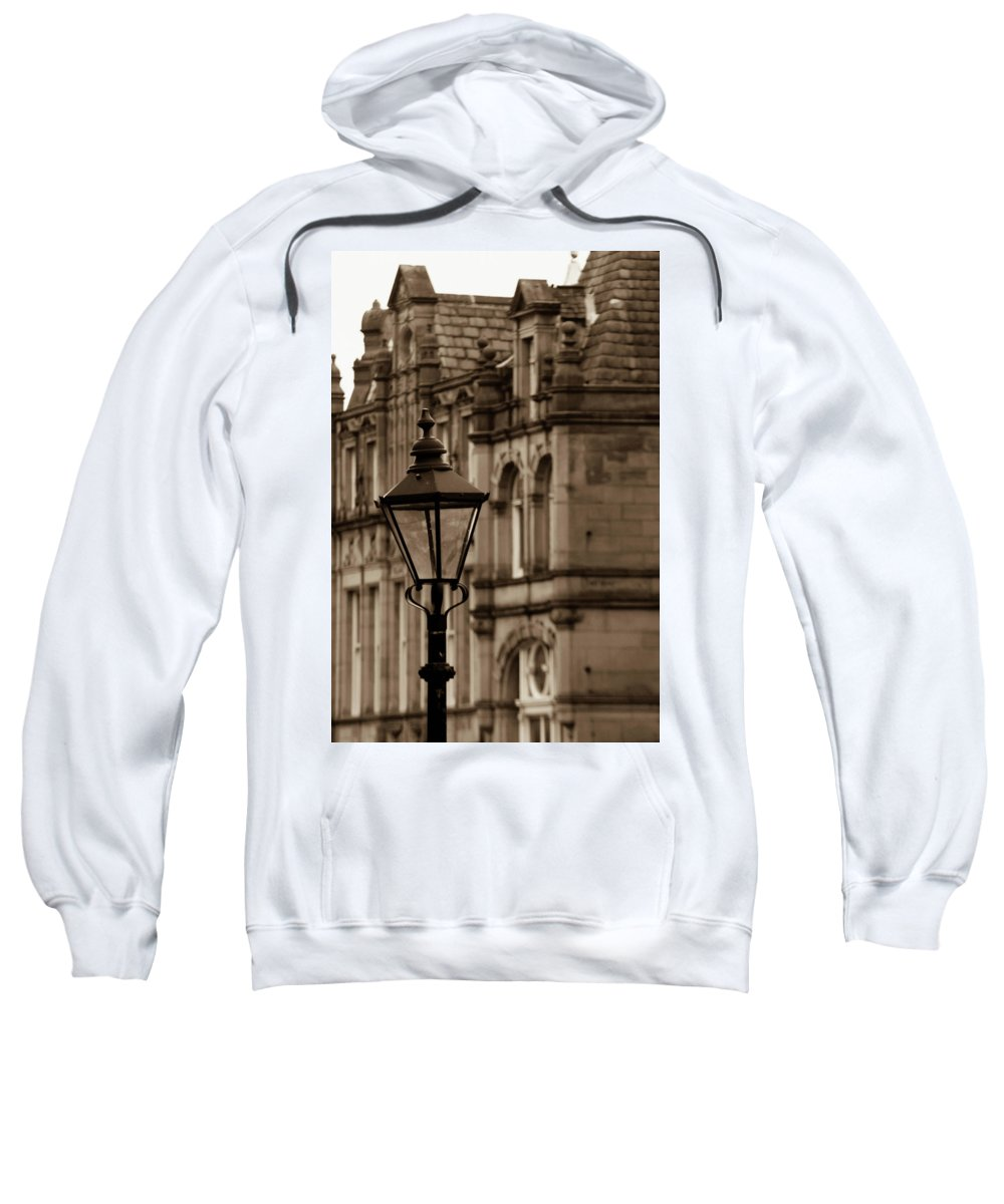 Hebden Sweatshirt featuring the photograph Still Strong by Jez C Self