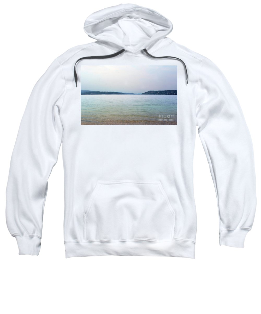 Lake Sweatshirt featuring the photograph Still Water by Dan Holm