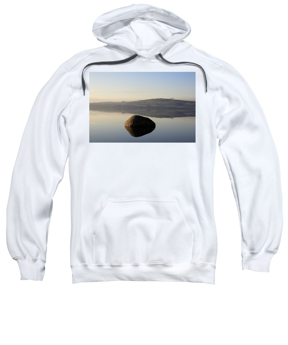 Landscape Sweatshirt featuring the photograph Stone Egg by Phil Crean