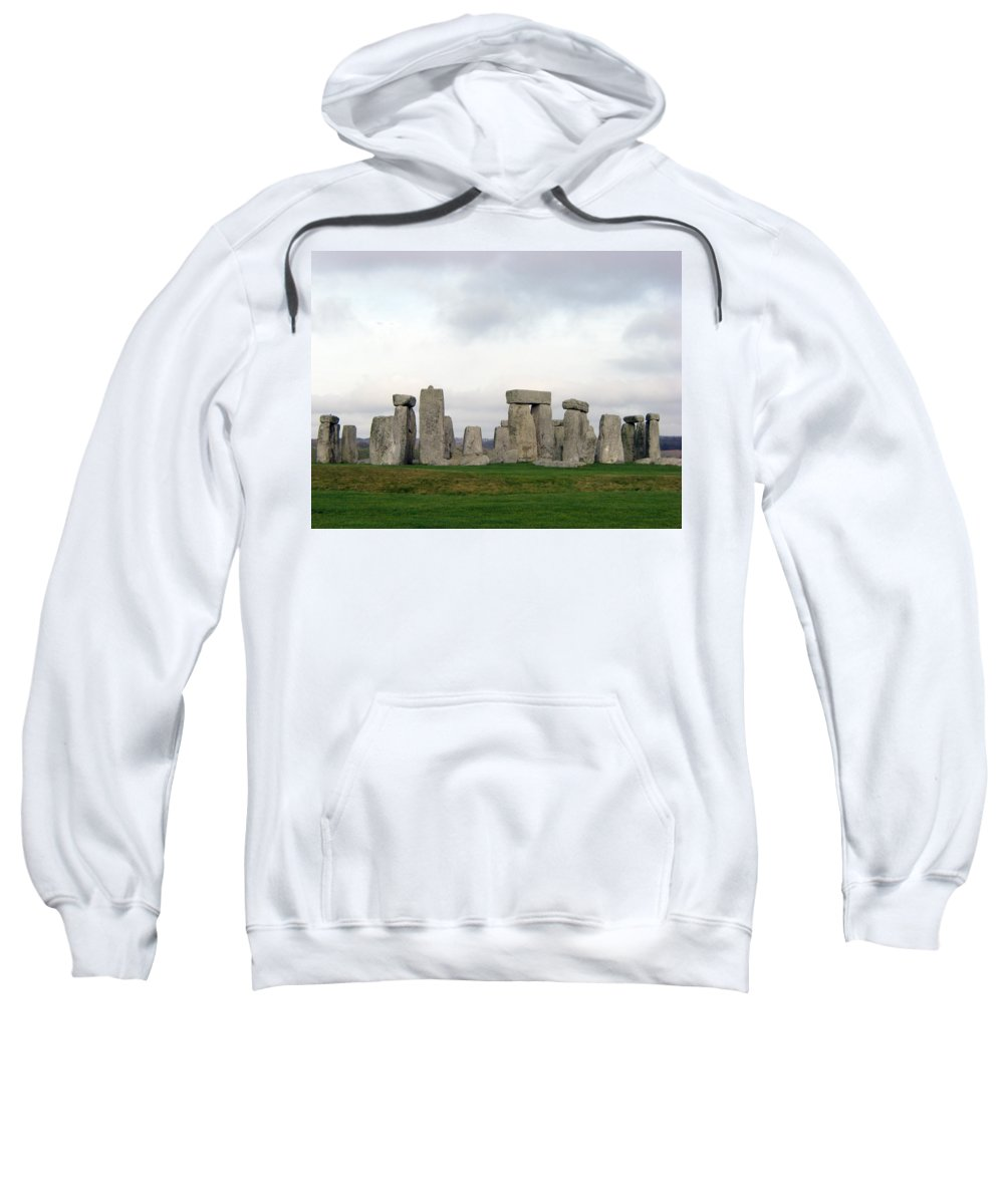 Stonehenge Sweatshirt featuring the photograph Stonehenge by Amanda Barcon