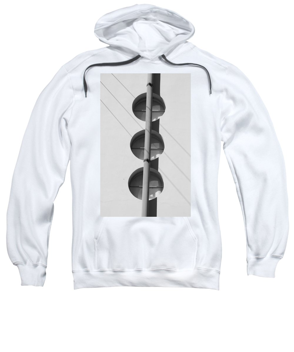 Architecture Sweatshirt featuring the photograph Stop Yield And Go by Rob Hans