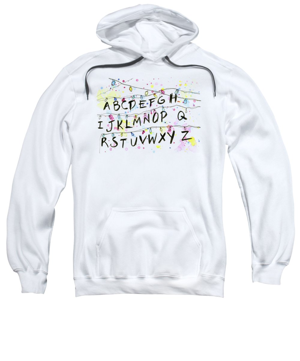 Alphabet Hooded Sweatshirts T-Shirts