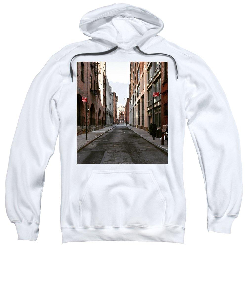 Street Sweatshirt featuring the photograph Street View by Aya Edlin
