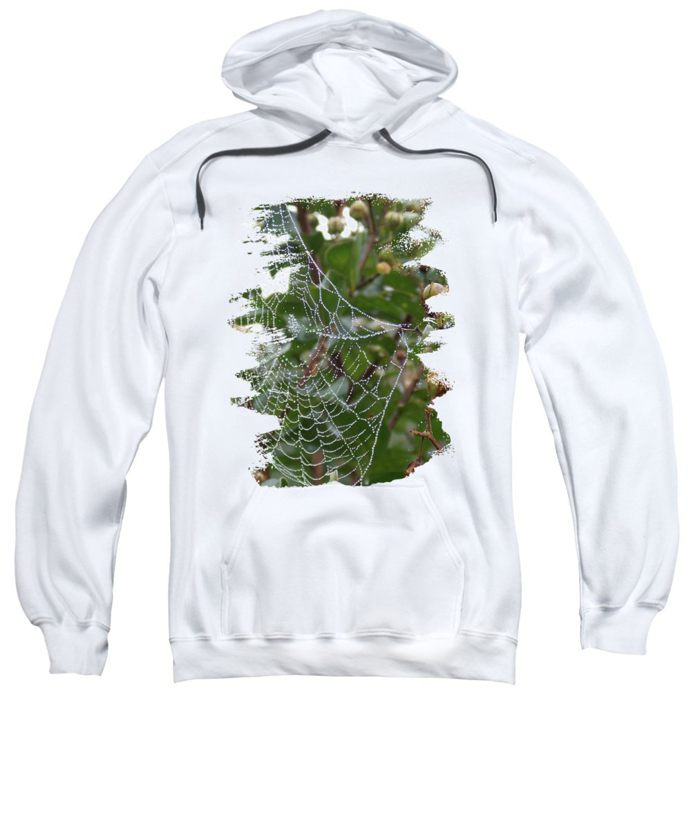 String Of Pearls Sweatshirt featuring the photograph String Of Pearls by Anita Faye