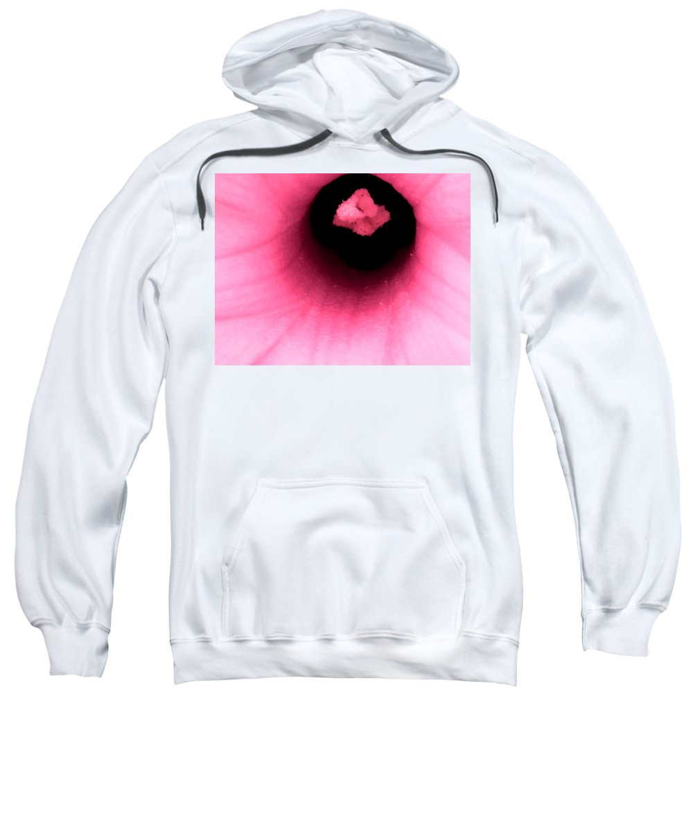 Abstract Sweatshirt featuring the photograph Sucked Into A Black Hole by Ian MacDonald