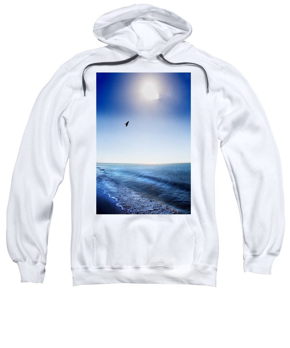 Sun Sweatshirt featuring the photograph Sun Shade by Mal Bray