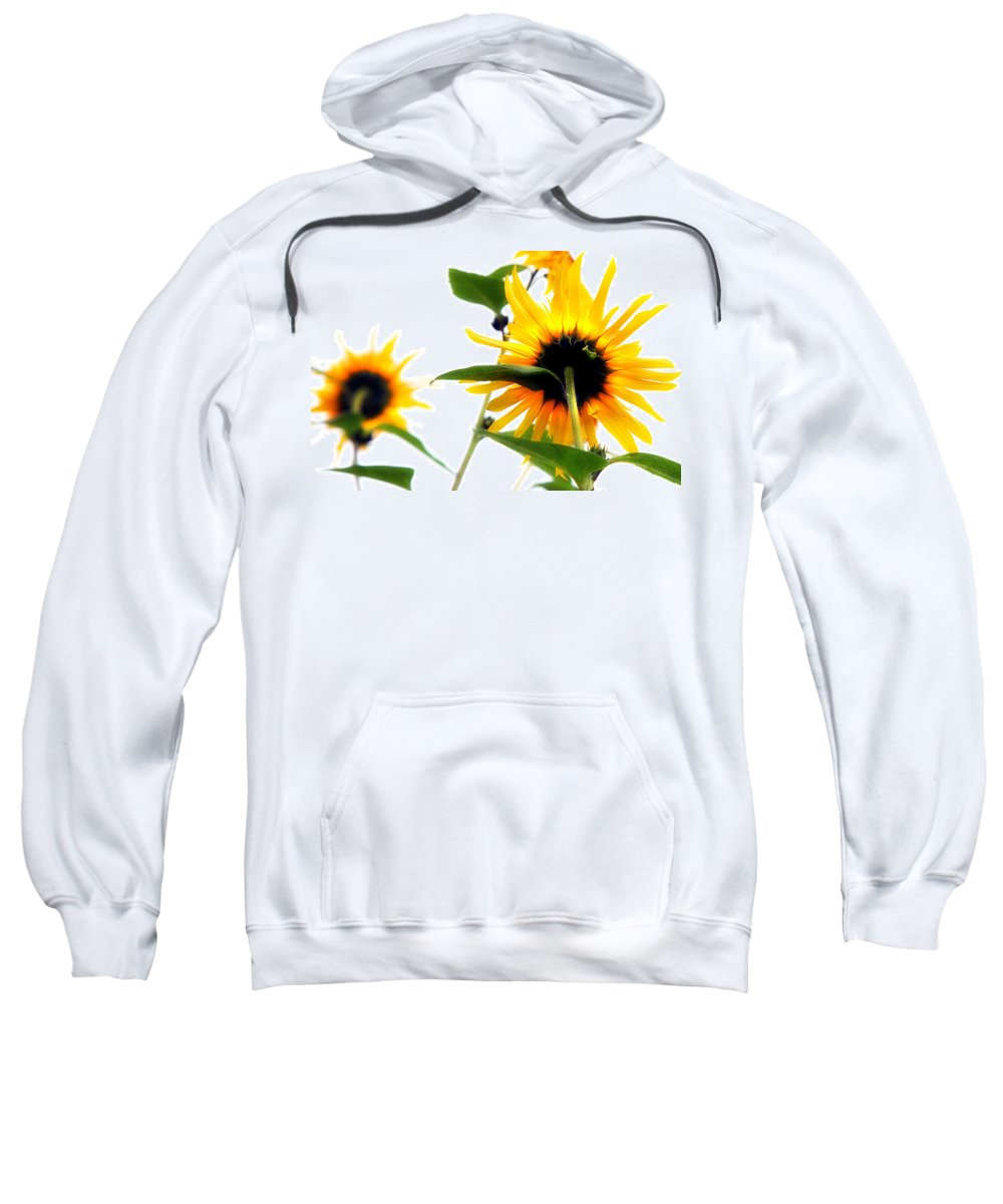 Sunflowers Sweatshirt featuring the photograph Sunflowers by Mal Bray
