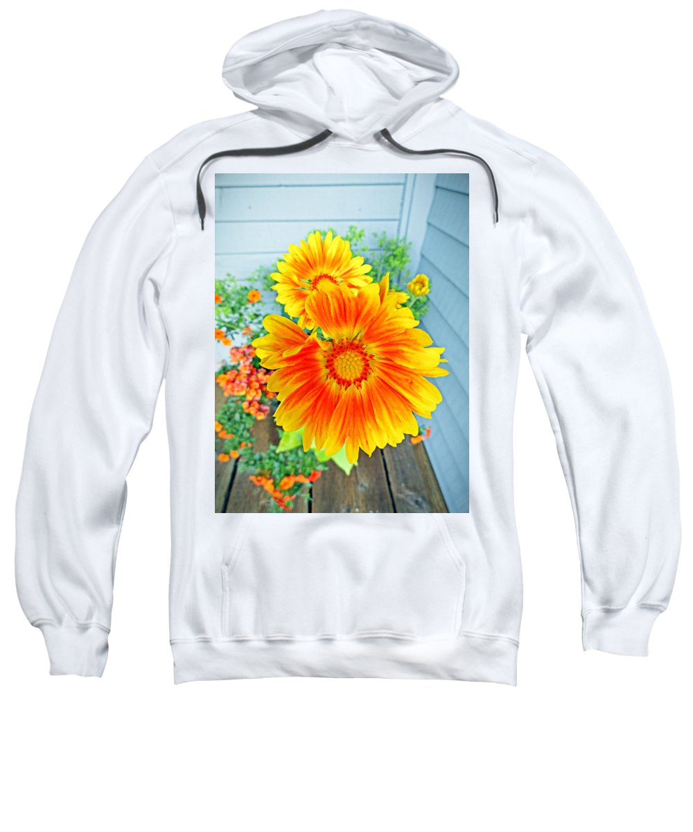 Sunrise Sweatshirt featuring the photograph Sunrise In A Corner by Robert Meyers-Lussier