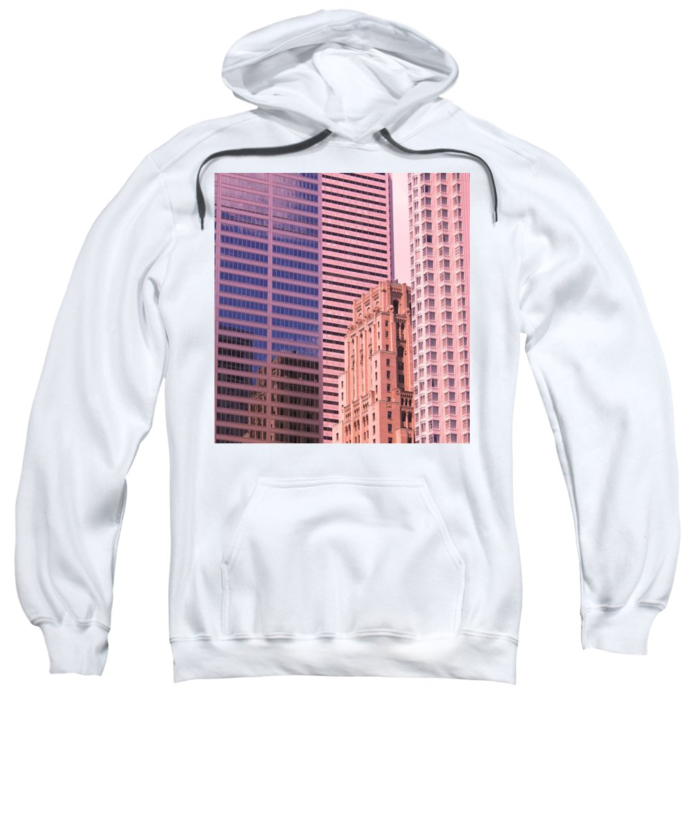 Office Buildings Sweatshirt featuring the photograph Surrounded by Ian MacDonald