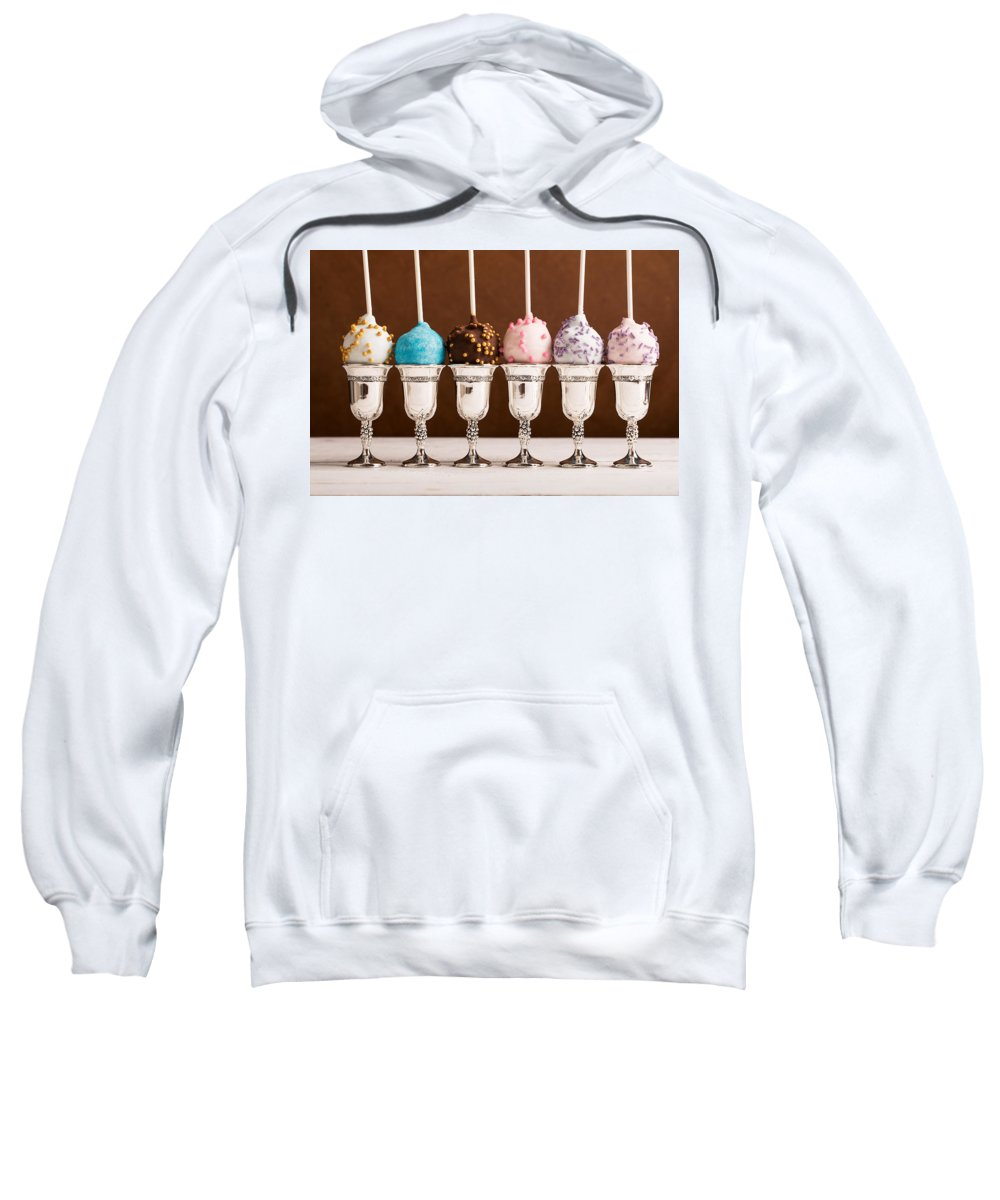 Vadim Goodwill Sweatshirt featuring the photograph Sweets Presents by Vadim Goodwill