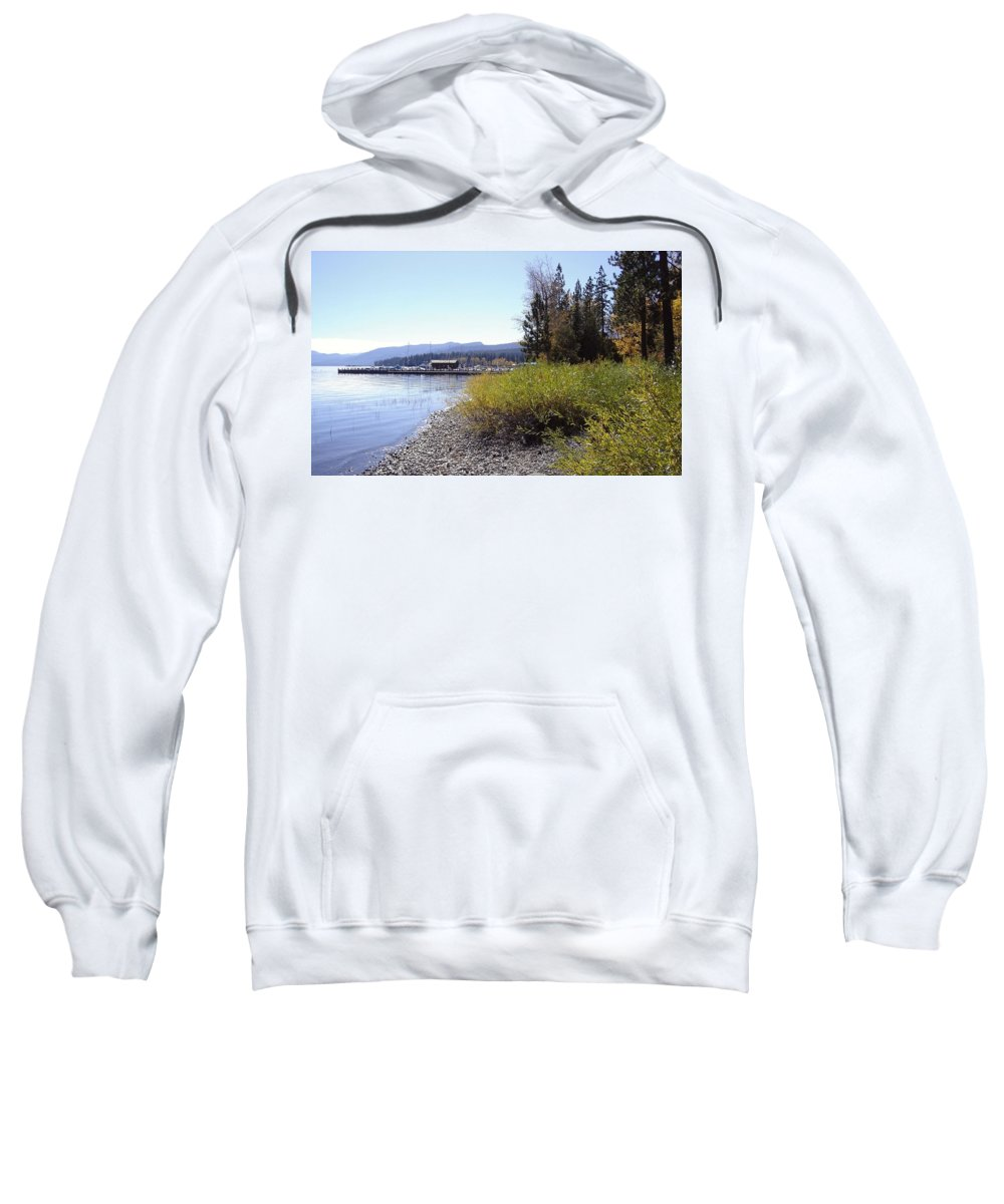 Lake Sweatshirt featuring the photograph Tahoe by Mary Rogers