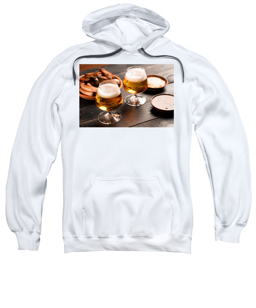 Vadim Goodwill Sweatshirt featuring the photograph Take A Sip, Please by Vadim Goodwill