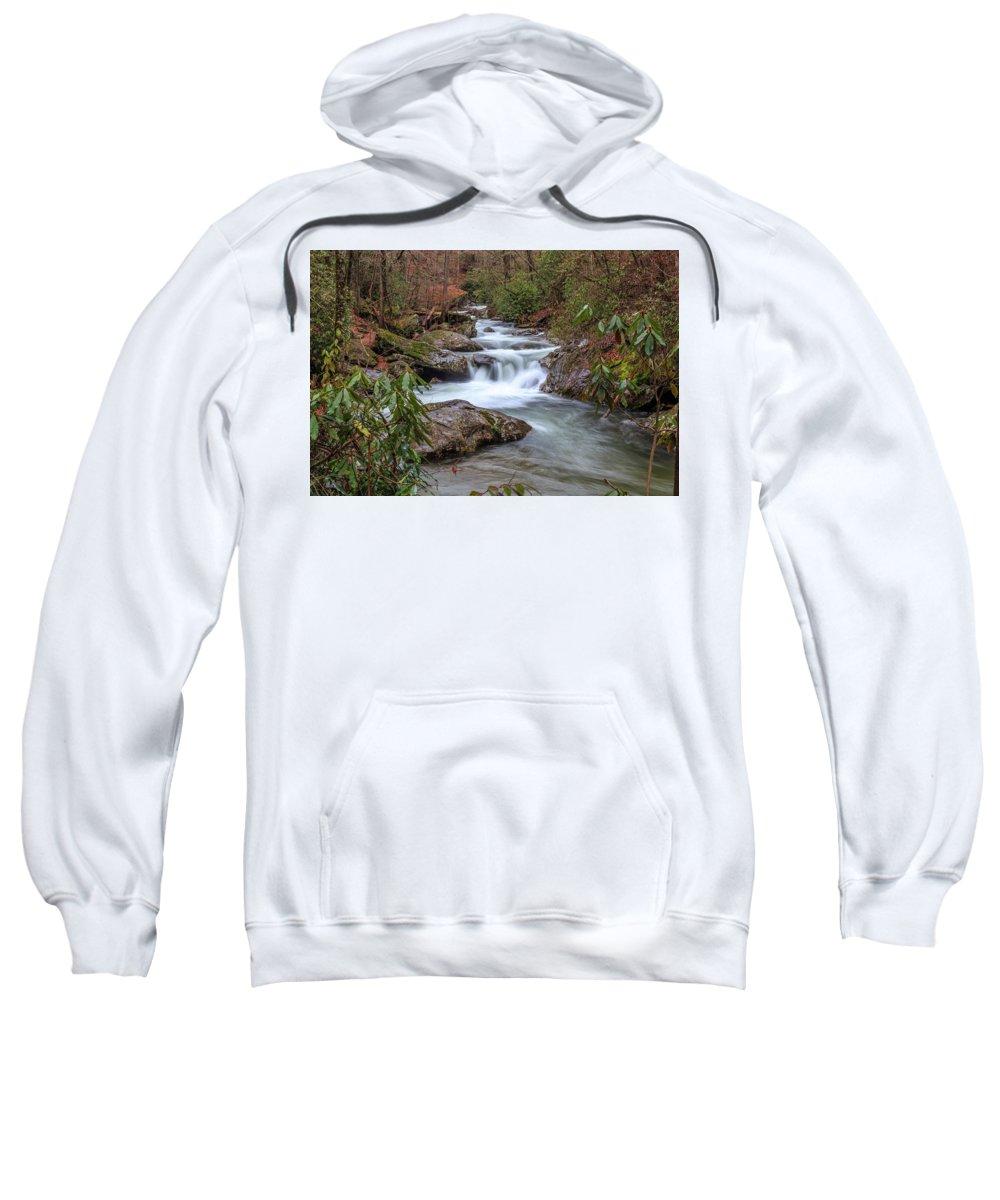 River Sweatshirt featuring the photograph Tallulah River by Doug Camara