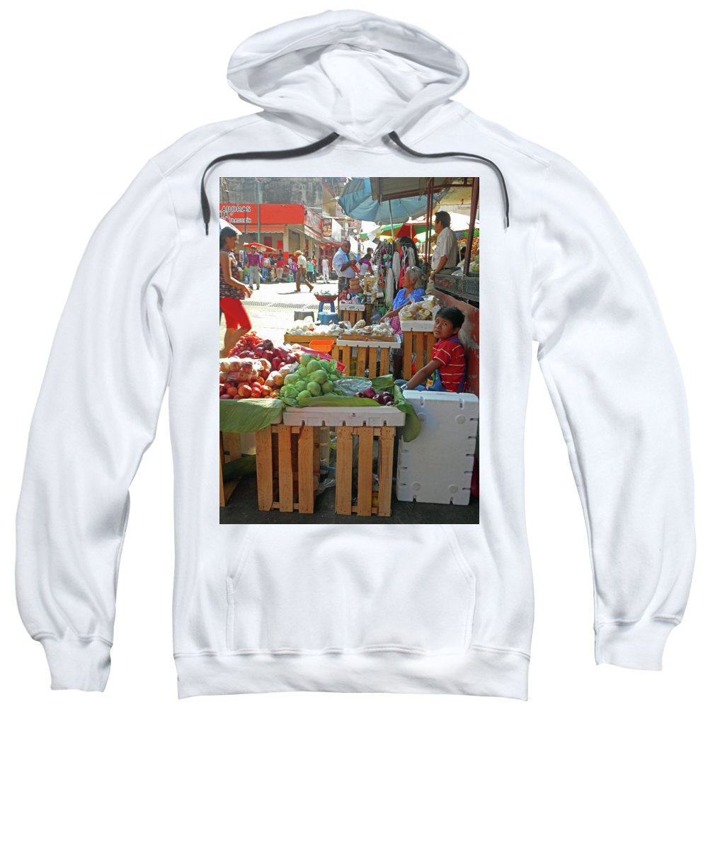 Tapachula Sweatshirt featuring the photograph Tapachula 9 by Ron Kandt