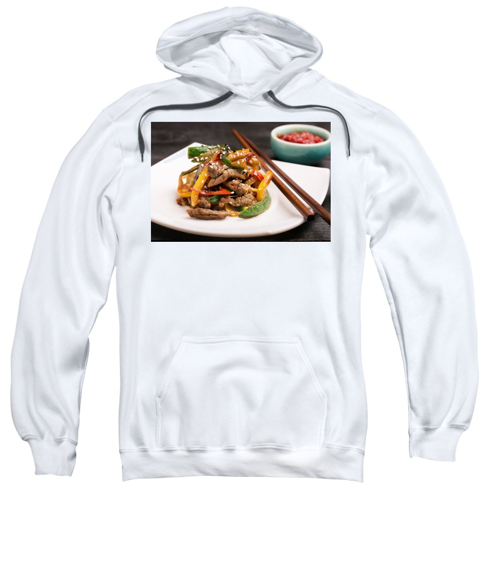 Vadim Goodwill Sweatshirt featuring the photograph Taste Of China 2 by Vadim Goodwill