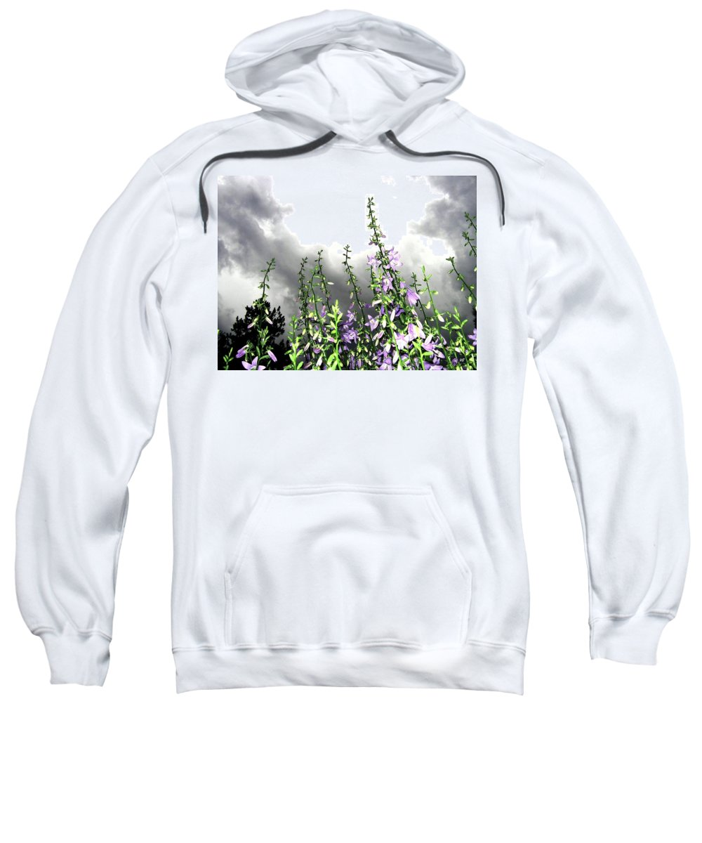 Storm Sweatshirt featuring the photograph The Approaching Storm by Will Borden