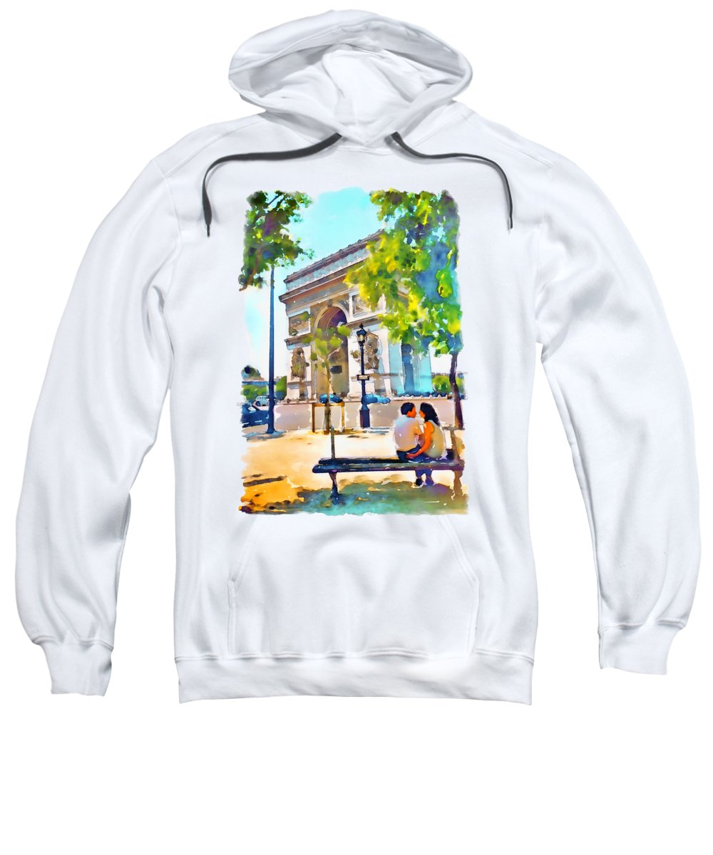 Arched Paintings Hooded Sweatshirts T-Shirts