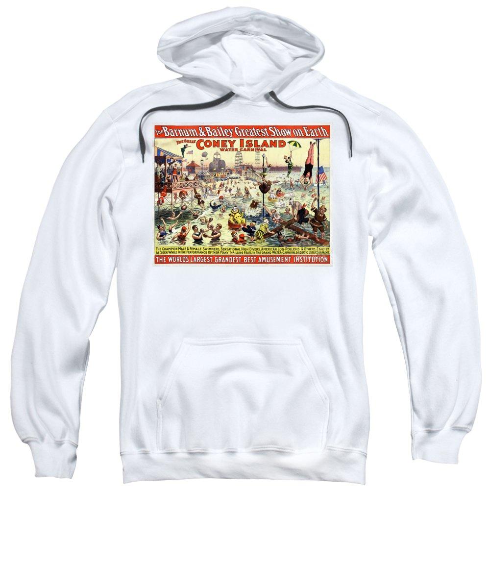 Barnum And Bailey Mixed Media Hooded Sweatshirts T-Shirts