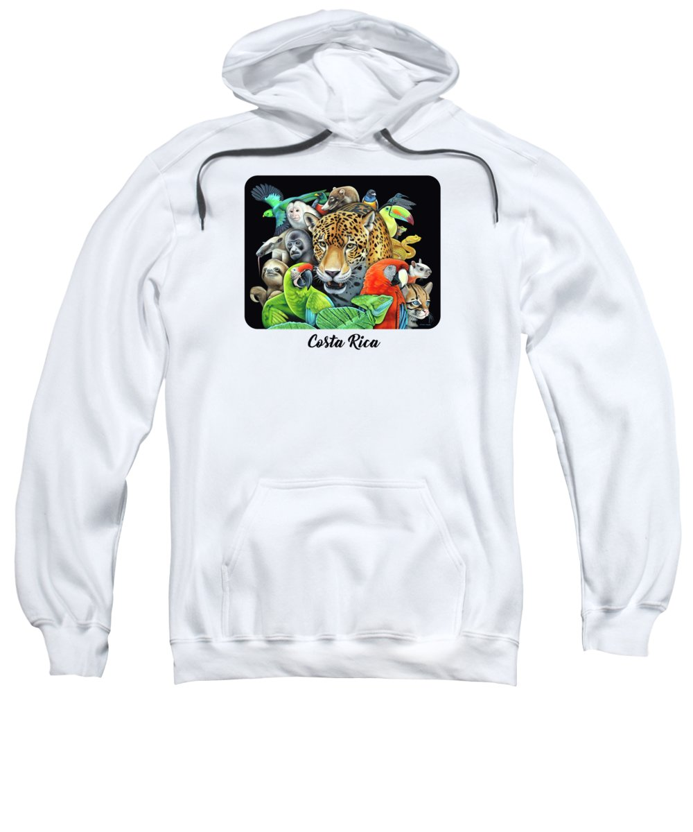 Macaw Hooded Sweatshirts T-Shirts