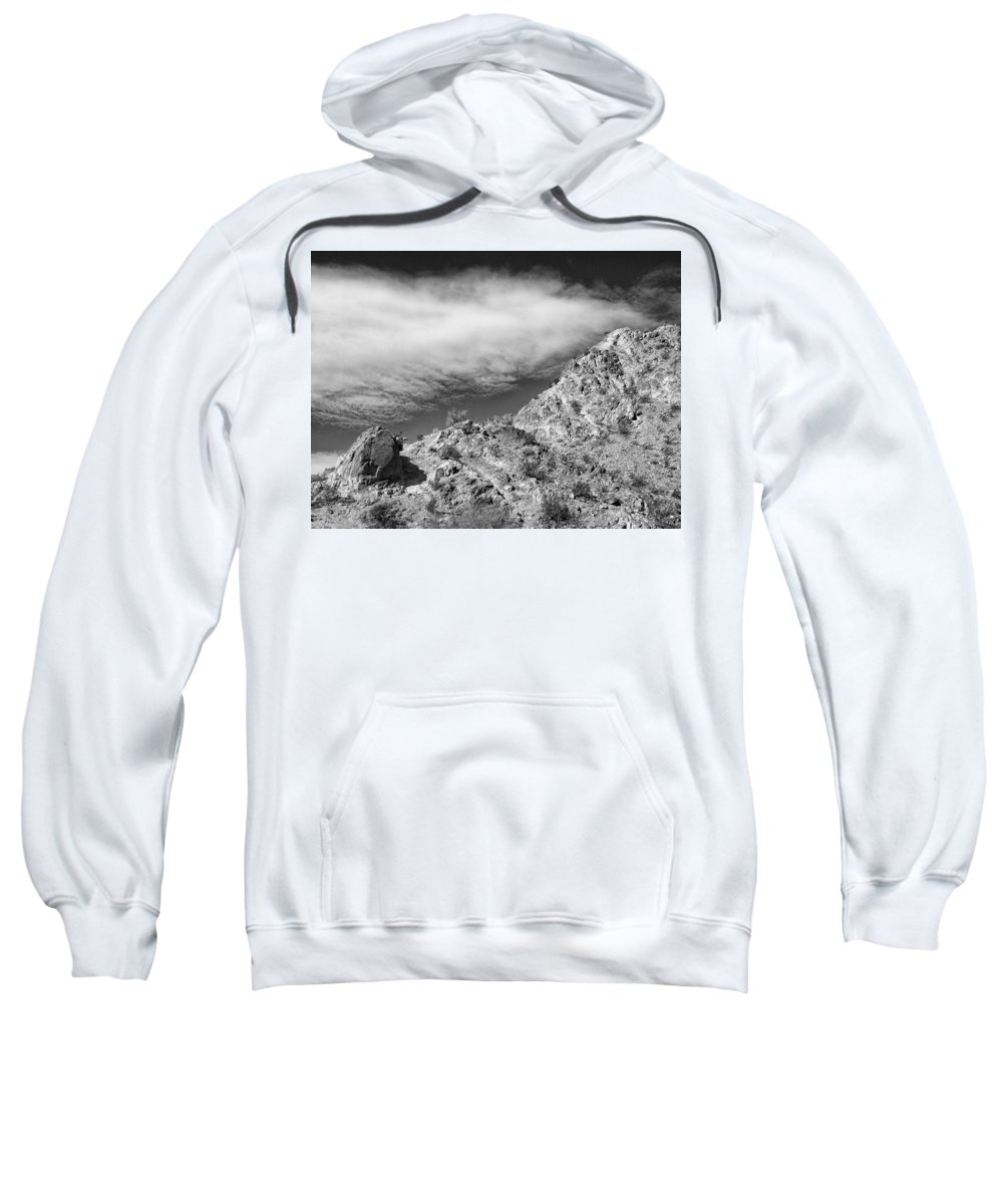 The Crest Sweatshirt featuring the photograph The Crest by Dominic Piperata