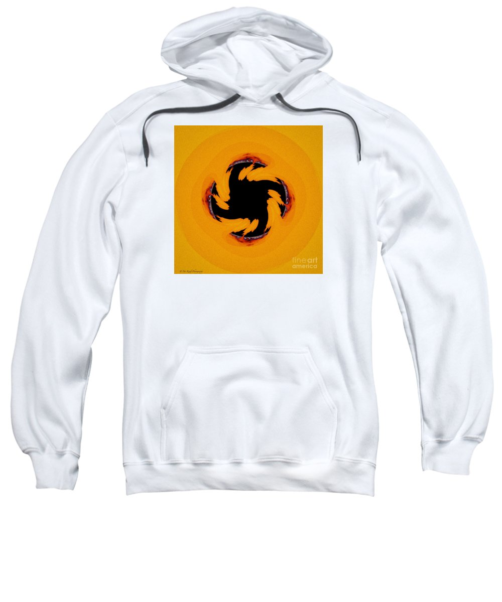 Abstract Sweatshirt featuring the photograph The Devil's Saw Blade by Pat Keith