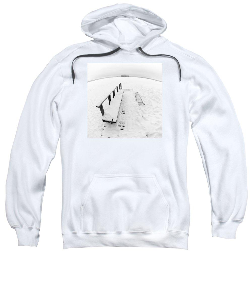 Lehtokukka Sweatshirt featuring the photograph The Dock 1 by Jouko Lehto