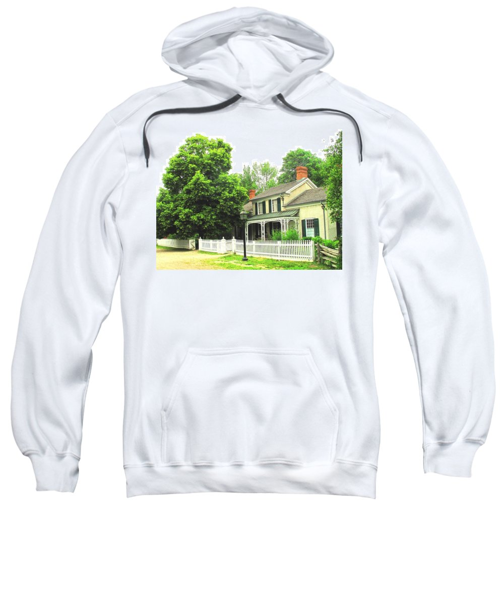 Doctor Sweatshirt featuring the photograph The Doctors House by Ian MacDonald
