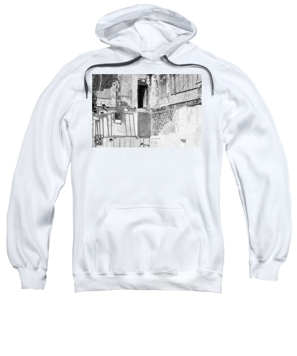 Architecture Sweatshirt featuring the photograph The Doorway To Darkness by Rob Hans