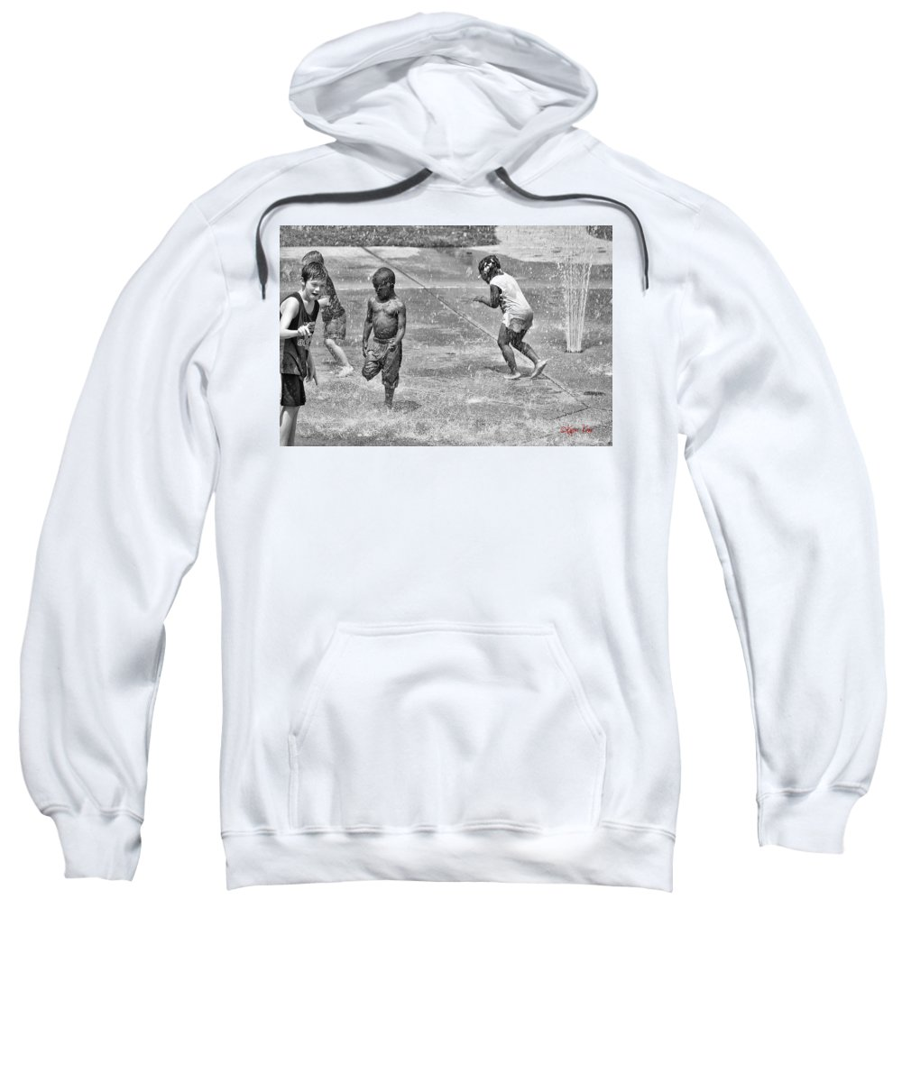 Kyzer Sweatshirt featuring the photograph The Fun by Kyzer Kane