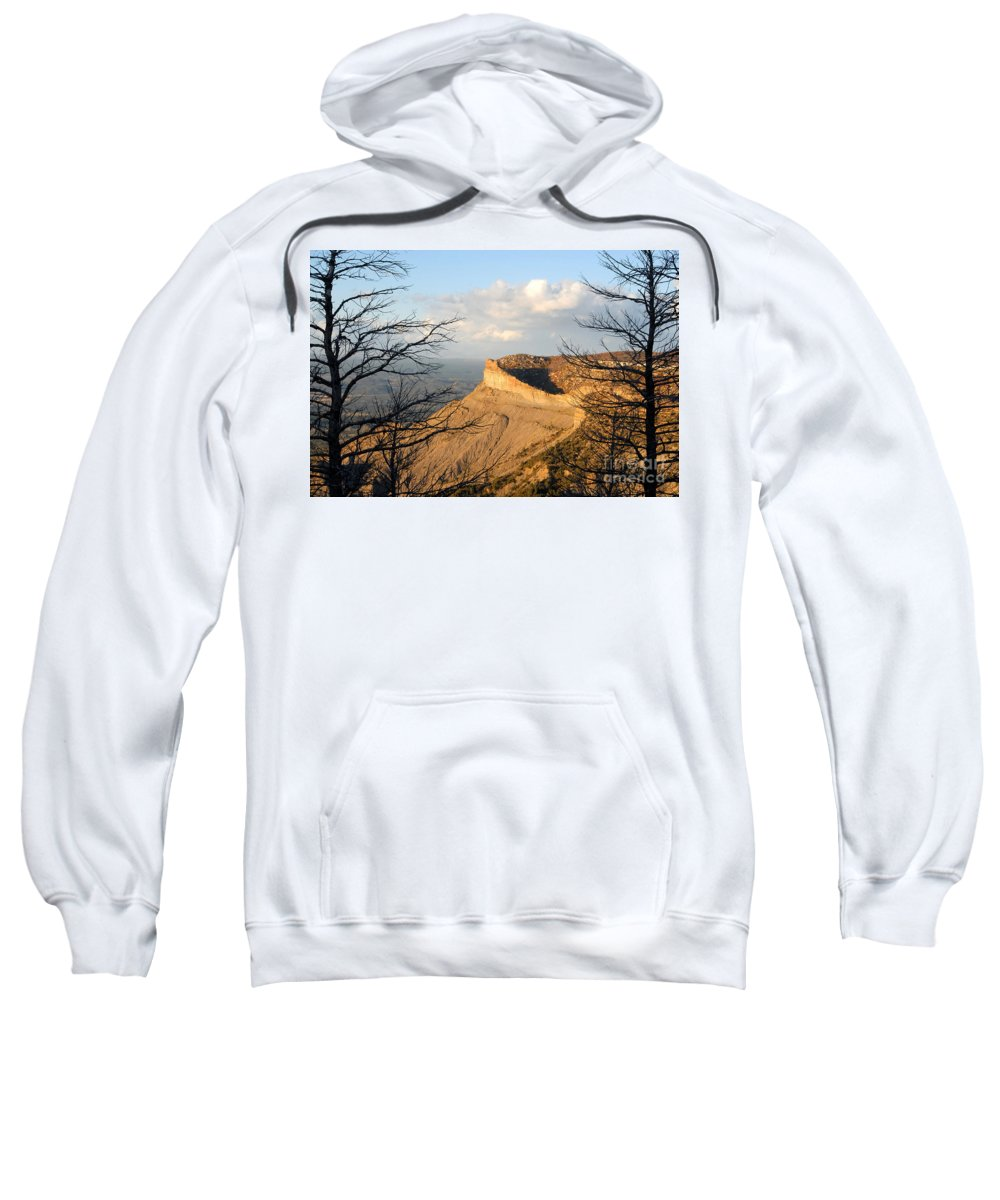Mesa Sweatshirt featuring the photograph The Great Mesa by David Lee Thompson