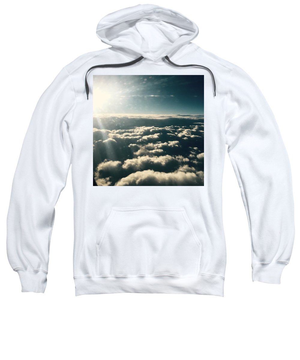 Clouds Sweatshirt featuring the photograph The Heavens by Nicole Prohaska