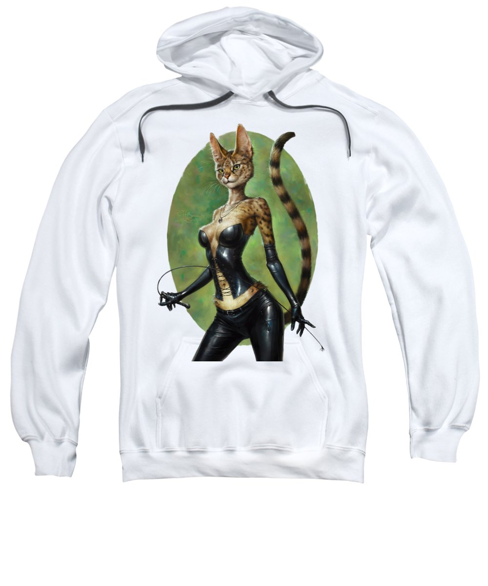 Sex Kitten Hooded Sweatshirts T-Shirts