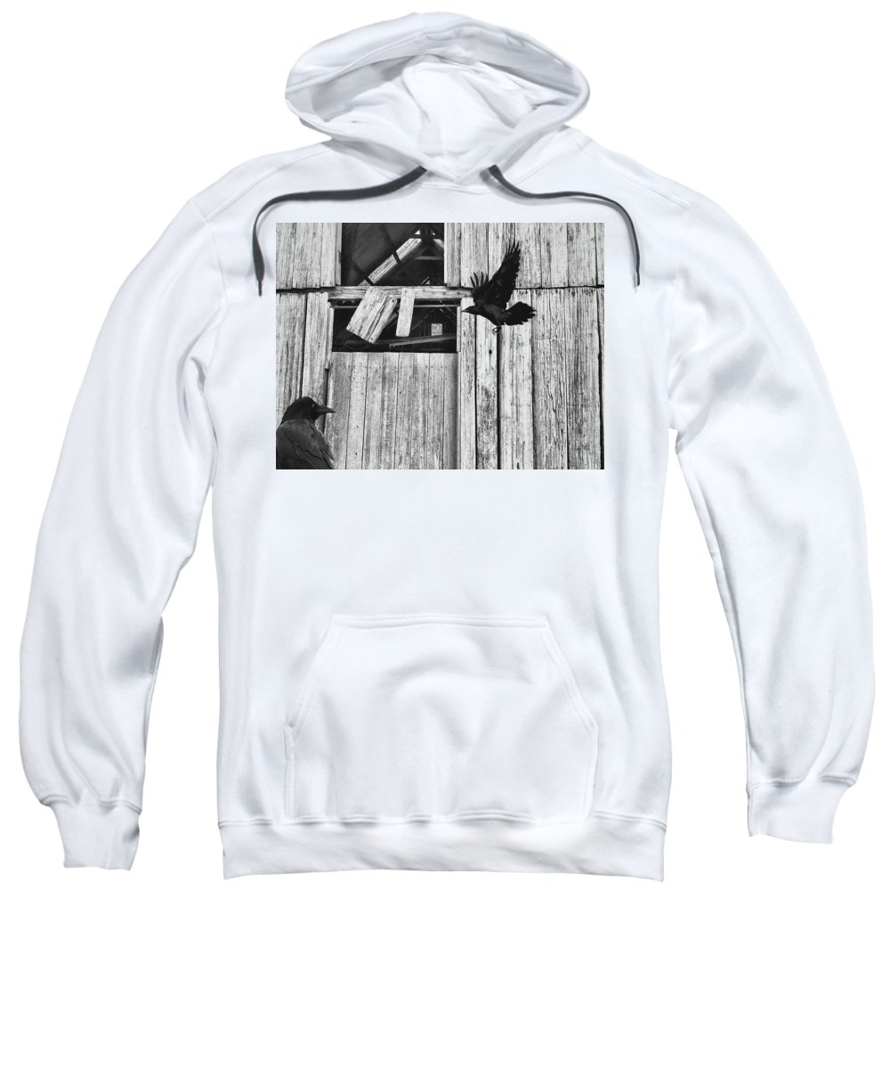 Homecoming Sweatshirt featuring the photograph The Homecoming by Anthony Robinson