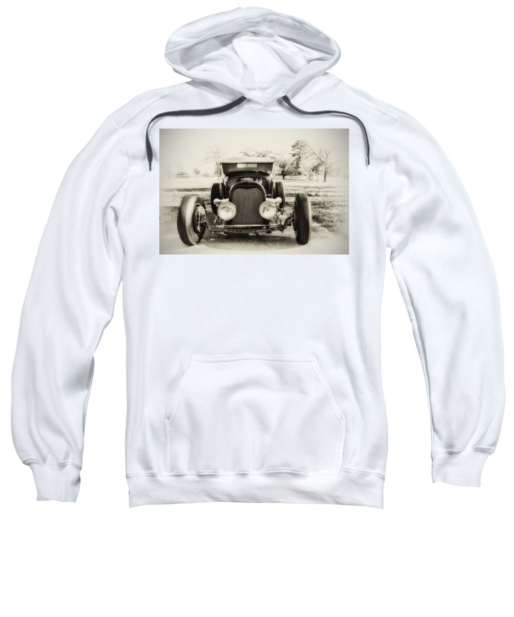 Classic Car Sweatshirt featuring the photograph The Jaunty Jalopy by Bill Cannon