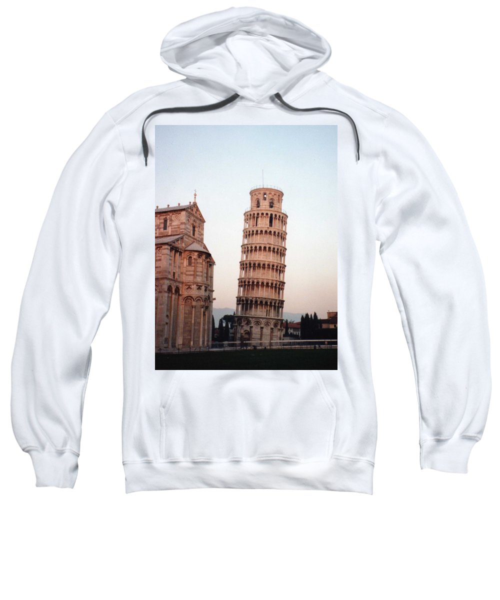 Leaning Tower Of Pisa Sweatshirt featuring the photograph The Leaning Tower Of Pisa by Marna Edwards Flavell